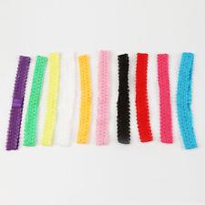10 Stück Baby Mädchen Stirnband Spitze Headwear elastisches Haarband Stirnband