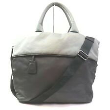 Prada Tote Bag  Grays Nylon 1006347