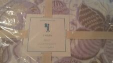 Pottery Barn Kids Evelyn Butterfly quilt twin lavender + 1 euro sham New