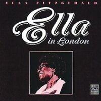 ELLA FITZGERALD - ELLA IN LONDON  CD NEW!