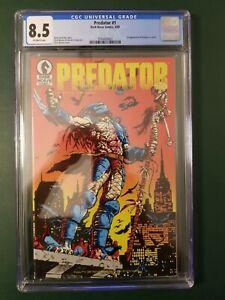 Predator (1989) #1 (CGC 8.5 - 3794430002) 1st Appearance of Predator in comics