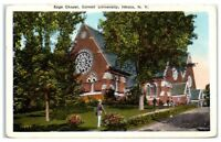 Early 1900s Sage Chapel, Cornell University, Ithaca, NY Postcard