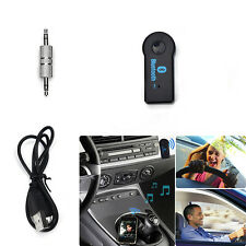 1x 3.5mm Streaming Car Wireless Bluetooth Car Kit AUX Audio Receiver Adapter LCA