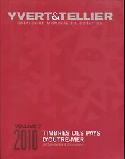 2010 French Yvert & Tellier Worldwide Postage Stamp Catalogue  S-Z  Volume 7