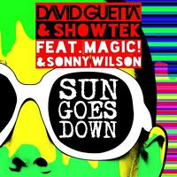 DAVID GUETTA& SHOWTEK FEAT. MAGIC!&WILSON,SONNY -SUN GOES DOWN  CD SINGLE NEUF