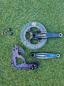 TRUVATIV Hussefelt DH CRANKSET 175mm w/ E Thirteen Ring Guard/ Bash Plate Set