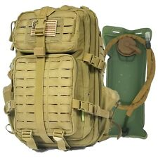 Gearrific Tactical Backpack with Hydration Bladder Combo - 40L Military Rucks...