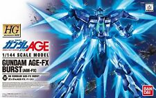 Bandai Hobby #32 High Grade 1/144 Gundam AGE-FX Burst 1/144 Model Kit Japan