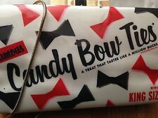Authentic Kate Spade Little Ribbon Candy Bow ties Samira Book Clutch