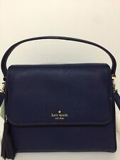 NWT Kate Spade Miri Chester Street Blue Leather Bag Handbag Crossbody WKRU4076