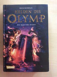 Helden des Olymp - Das Haus des Hades, Rick Riordan, Band 4, gebundene Ausgabe