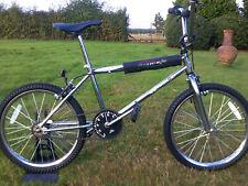old school bmx  bike emmelle raider chrome retro cycle
