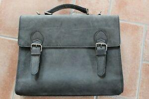 HAROLD`S Aktentasche Leder * Lehrertasche * Neu und unbenutzt