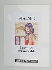 Ex-libris STALNER Esmeralda interdite farde