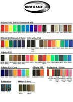 """BIOTHANE BETA STANDARD 3/8"""" to 2"""" (9mm to 50mm) - all colors (tous coloris)"""