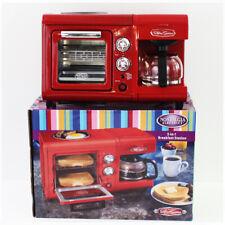 3 In 1 Breakfast Station Toaster Oven Griddle Retro Series Nostalgia Kitchen