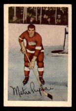 1952-53 Parkhurst #60 Metro Prystai Red Wings EX+ (ref 27856)