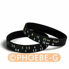 Photographer's Wristband Lens Focus Ring / Stop Zoom Creep Silicon Latex