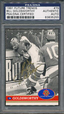 1991 Future Trends #79 Bill Goldsworthy PSA/DNA Certified Authentic Auto *5255
