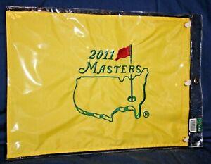 New 2011 MASTERS Embroidered Golf Pin Flag CHARL SCHWARTZEL Winner
