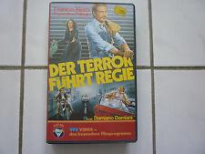 Der Terror Führt Regie (Politthriller Frano Nero Damiano Damiani VHS VPS 1985!!)