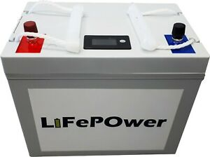 100Ah 12V 1.28 kWh Lithium LiFePO4 Battery Batterie deep cycle