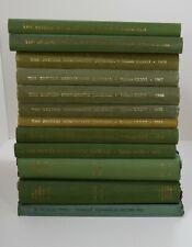 British Numismatic Society: The British Numismatic Journal: Lot of 19 Volumes