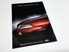 1994 Ford Telstar TX5 ADM Brochure - Australian Domestic Market