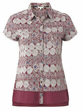 Marks and Spencer Women's Hip Length Classic Collar Casual Tops & Shirts