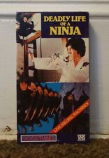 Deadly Life Of A Ninja Rare & OOP Kung Fu Martial Arts Movie Goodtimes Video VHS