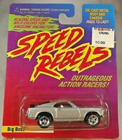 1997 Playing Mantis Speed Rebels BIG BOSS Gray Variation w/Chrome Spoke Wheels