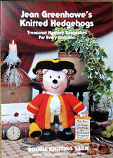 Jean Greenhowe Knitted Hedgehogs - Toy Knitting Pattern Book