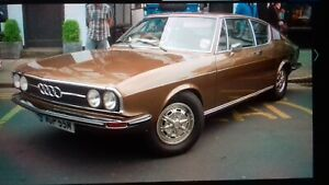 CLASSIC   AUDI 100 S COUPE   1974   AUTOMATIC    -   A TRUE GENTLEMAN'S GT