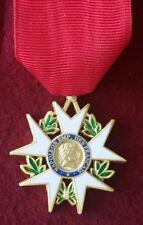 Légion d'honneur 1er Empire 1er type 1802 avec ruban Nouvelle Reproduction