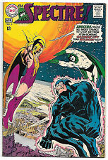 Spectre #3 (DC 1968, fn-vf  7.0 Neal Adams art) worth $47.00 (£38) in this grade