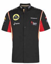 New listing SHIRT ladies Formula One 1 Lotus F1 Team NEW Raceshirt Sponsor Black 2013 XSmall