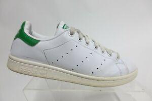 ADIDAS Stan Smith Leather White/Green Sz 8.5 M Men Casual Sneakers