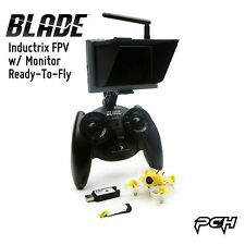Blade Inductrix FPV w/ Monitor + SAFE RTF Electric RC Quadcopter Drone BLH8500