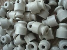 40 pcs. Isolatore in Ceramica per Cavi Esposti, Retro Insulator for Open Wiring