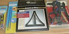 AMATI LOOM-A-LINE & MODELCRAFT MICROSNIPS / STEEL PROBES AND PRECISION KIT CLAMP