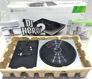 DJ Hero 2 Turntable Bundle (Microsoft Xbox 360, 2010)