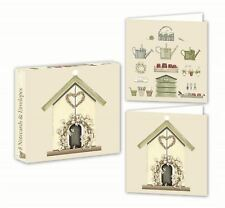 Pajarera - Tarjeta Paquete - 8 TARJETAS/SOBRES - 2 Diseños - Sally swannell