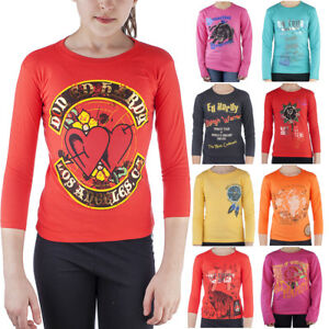 Ed Hardy 100% Cotton Toddlers & Girls Long Sleeve T-Shirt