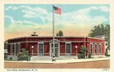 BUCKHANNON, WV West Virginia   POST OFFICE   Upshur County   c1940's Postcard