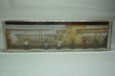 VINTAGE Mahale FIGURAS Box - ESCALA N - Vendedor / OFICIALES-BOX 800 (1.fig-38