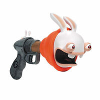 McFarlane Rabbids Super Plunger Blaster Ages 4+ Play New Toy Boys Girls Fight