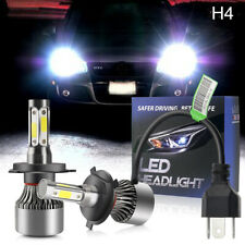 2019 H4 HB2 9003 2000W 320000LM 4-Side LED Headlight Car Hi/Lo Bi Bulb 6500K