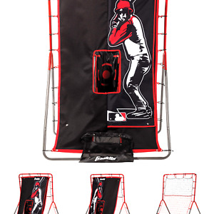 Franklin Sports Baseball Pitching Target and Rebounder Net - 2-in-1 Switch Hi...