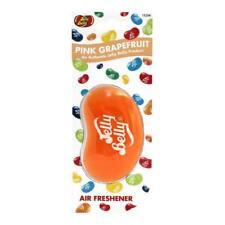1 x 3D Jelly Belly Bean DOLCE Gel Deodorante Pompelmo Rosa Freshner MC18