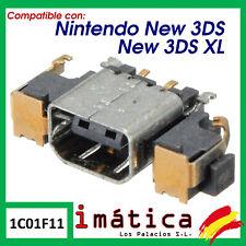 CONECTOR DE CARGA PARA NINTENDO NEW 3DS / 3DS XL DC POWER JACK CORRIENTE PUERTO